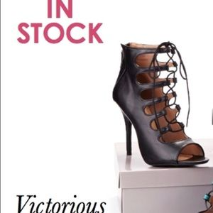 Bakers Heel Victorious Lace-up bootie 👠